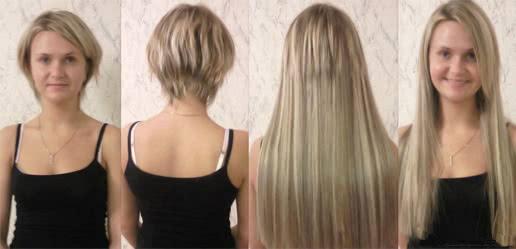 наращивание волос москва цены фото
