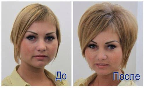 прикорневой объем фото до и после отзывы
